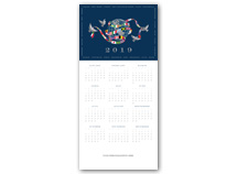 United in Peace Calendar Cards